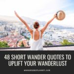 short wander quotes