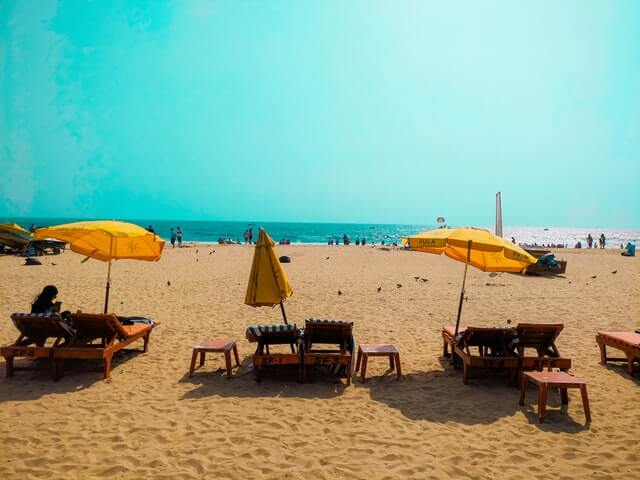 Indian tourist destinations famous for beaches